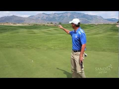 How To Play Sandia Golf Club's Signature Hole - The Par 4, 18th Hole
